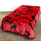 "Arkansas Razorbacks Throw Blanket / Bedspread, 63"" x 86"""