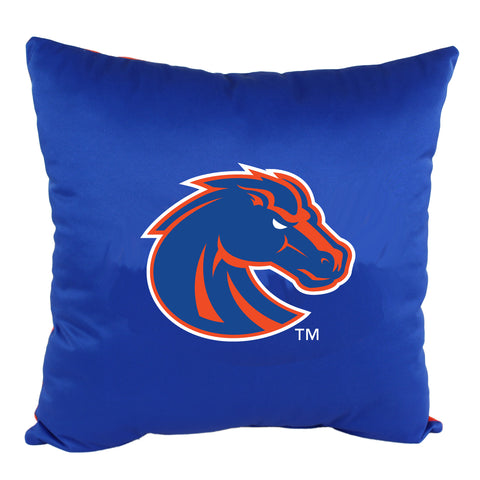 "Boise State Broncos 2 Sided Decorative Pillow, 16"" x 16"", Made in the USA"