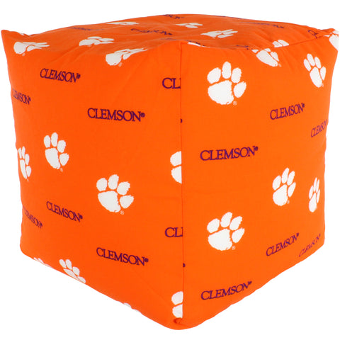 Clemson Tigers Cube Cushion