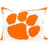 Clemson Tigers Fully Stuffed Big Logo Pillow