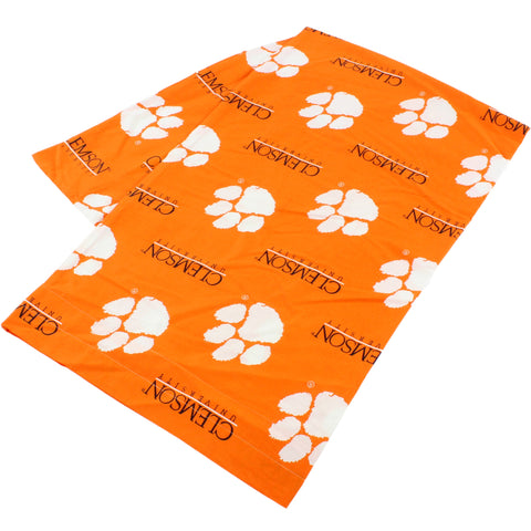 Clemson Tigers Body Pillow Pillowcase