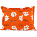 Clemson Tigers Pillow Sham