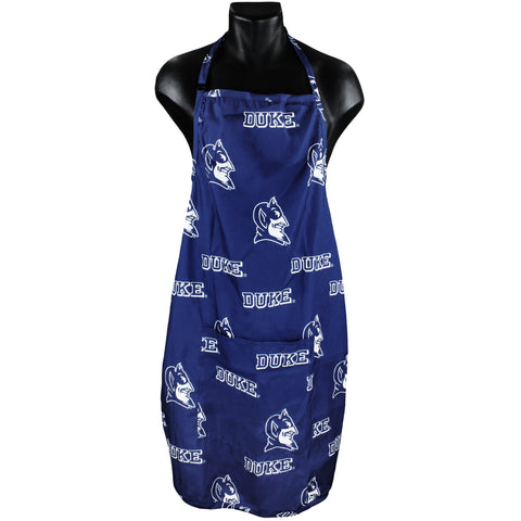 "Duke Blue Devils Grilling Tailgating Apron with 9"" Pocket, Adjustable"