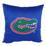 "Florida Gators 2 Sided Decorative Pillow, 16"" x 16"", Made in the USA"