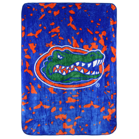 "Florida Gators Throw Blanket / Bedspread, 63"" x 86"""