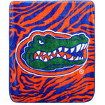 "Florida Gators Raschel Throw Blanket, 50"" x 60"""