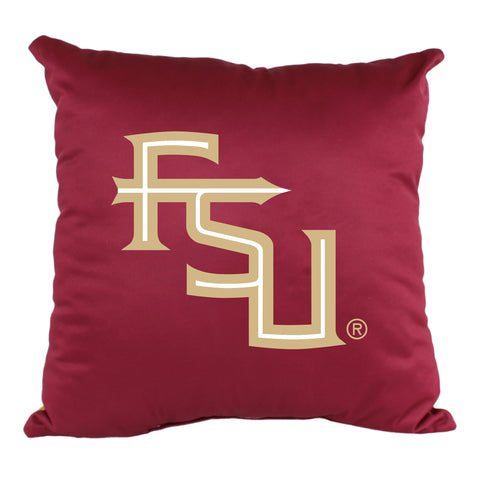 "Florida State Seminoles 2 Sided Decorative Pillow, 16"" x 16"", Made in the USA"