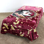 Florida State Seminoles Throw Blanket / Bedspread