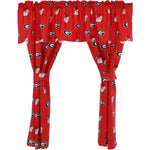 Georgia Bulldogs Curtain Valance