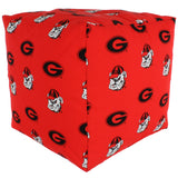 Georgia Bulldogs Cube Cushion