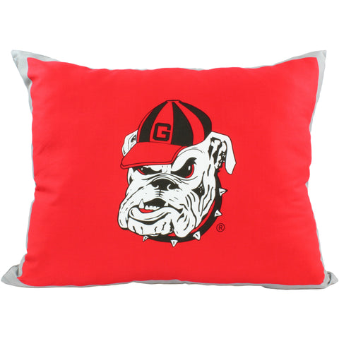 Georgia Bulldogs Fully Stuffed Big Logo Pillow