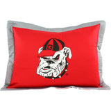 Georgia Bulldogs Pillow Sham