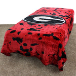 Georgia Bulldogs Throw Blanket / Bedspread