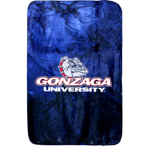 Gonzaga Bulldogs Sublimated Soft Throw Blanket