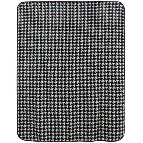 Houndstooth Throw Blanket / Bedspread