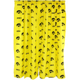 "Iowa Hawkeyes Curtain Panels - 63"" or 84"""