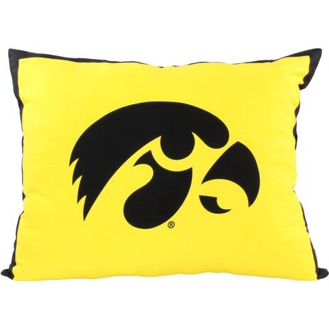 Iowa Hawkeyes Fully Stuffed Big Logo Pillow