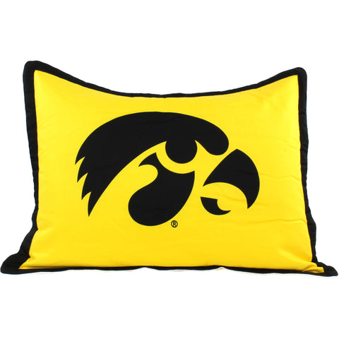 Iowa Hawkeyes Pillow Sham