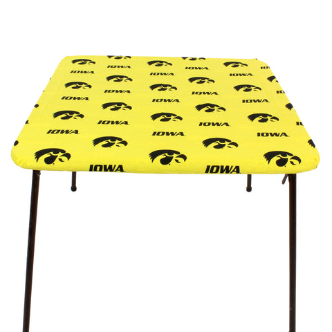 Iowa Hawkeyes Fitted Table Cover / Tablecloth:  3 Sizes Available