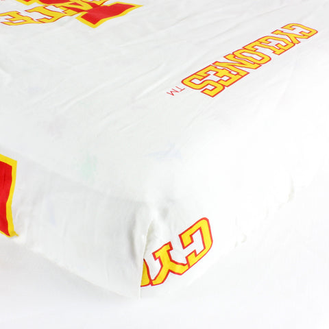 Iowa State Cyclones Baby Crib Fitted Sheet