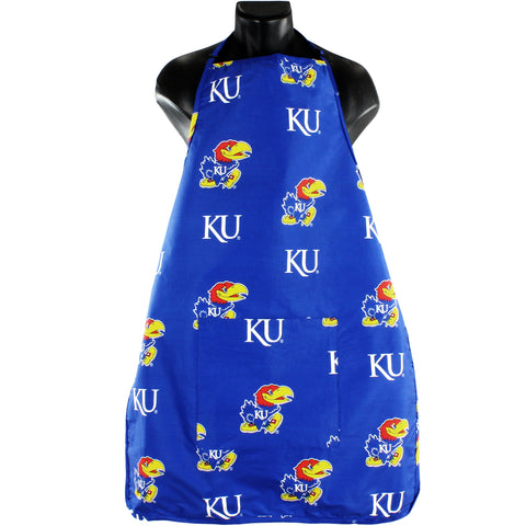Kansas Jayhawks Apron with Pocket
