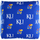 Kansas Jayhawks Cube Cushion