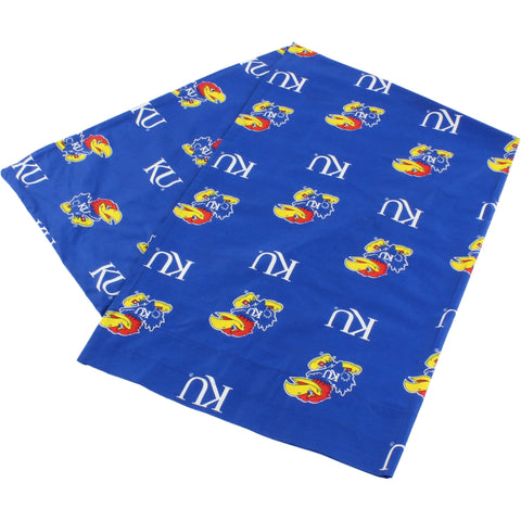 Kansas Jayhawks Body Pillow Pillowcase