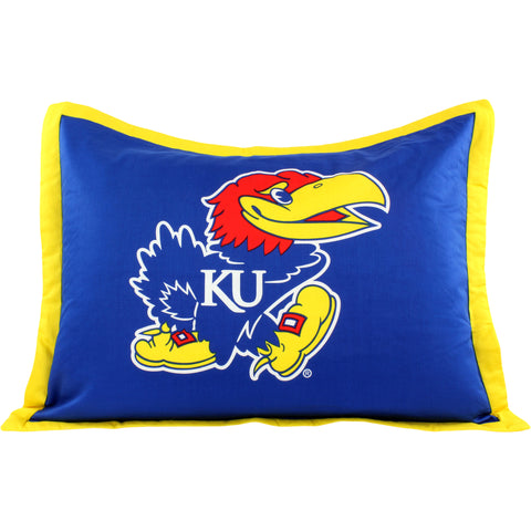 Kansas Jayhawks Pillow Sham