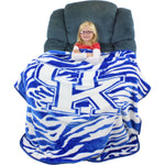 Kentucky Wildcats Raschel Throw Blanket