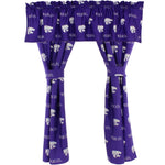 Kansas State Wildcats Curtain Valance