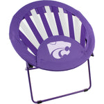 Kansas State Wildcats Rising Sun Chair