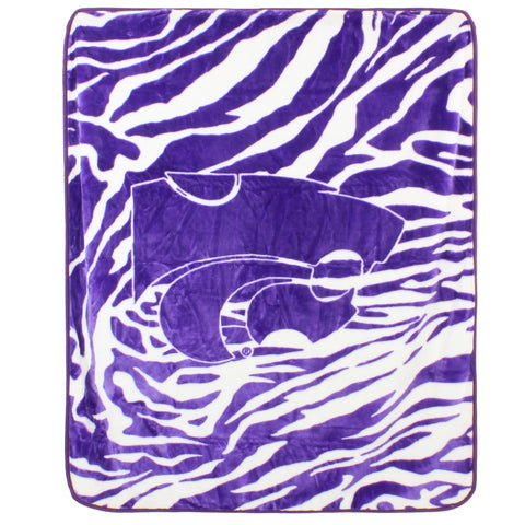 Kansas State Wildcats Raschel Throw Blanket