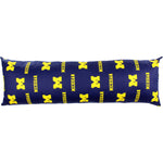 Michigan Wolverines Body Pillow