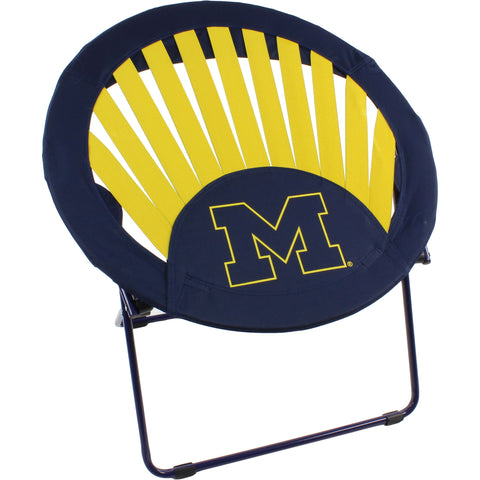 Michigan Wolverines Rising Sun Chair
