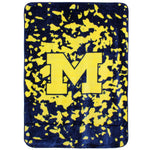 Michigan Wolverines Throw Blanket / Bedspread