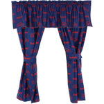 Ole Miss Rebels Curtain Valance