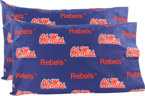 Ole Miss Rebels Pillowcase