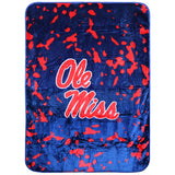 Ole Miss Rebels Throw Blanket / Bedspread