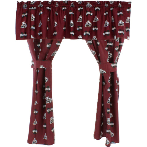 Mississippi State Bulldogs Curtain Valance