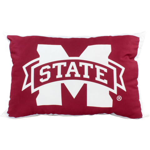 "Mississippi State Bulldogs Fully Stuffed 28"" Big Logo Pillow"