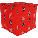North Carolina State Wolfpack Cube Cushion