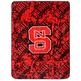 North Carolina State Wolfpack Throw Blanket / Bedspread