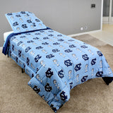 North Carolina Tar Heels Reversible Cotton Comforter Set