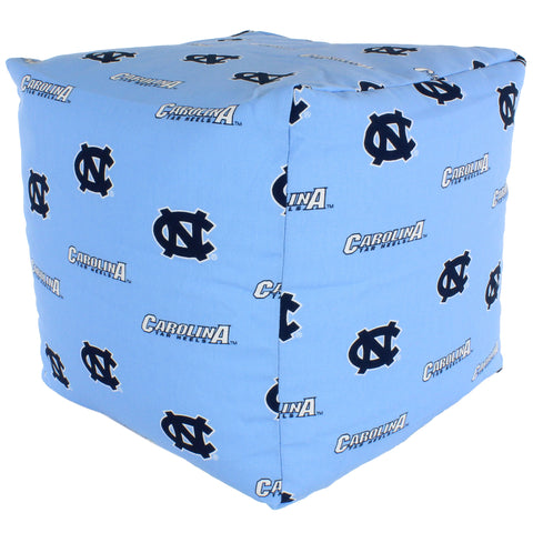 North Carolina Tar Heels Cube Cushion
