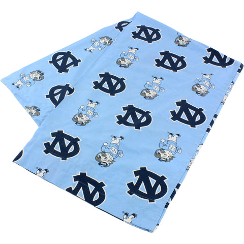 North Carolina Tar Heels Body Pillow Pillowcase