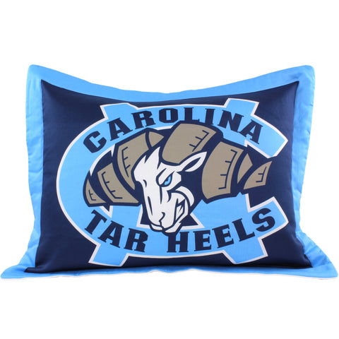 North Carolina Tar Heels Pillow Sham