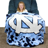 North Carolina Tar Heels Throw Blanket / Bedspread