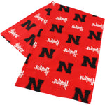 Nebraska Cornhuskers Body Pillow Pillowcase
