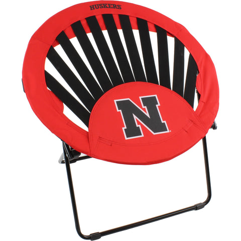 Nebraska Huskers Rising Sun Chair
