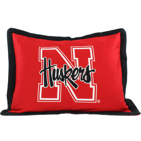 Nebraska Huskers Pillow Sham